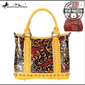 Montana west vintage floral collection conceal bag